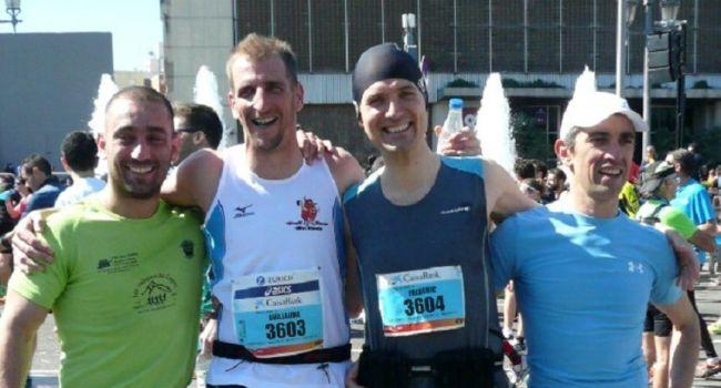 Bravo à ces quatre jeunes qui ont bien représenté le Comminges lors du marathon de Barcelone./