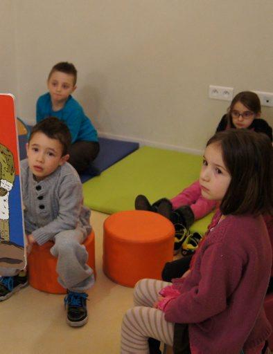 Cette animation gratuite est proposée aux enfants durant les vacances scolaires. / Photo DDM, Y. S.- Ch.