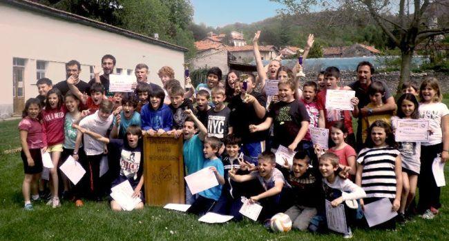 Quarante enfants, répartis en équipes, ont relevé des défis tout au long de cette belle semaine riche en émotions. /DDM