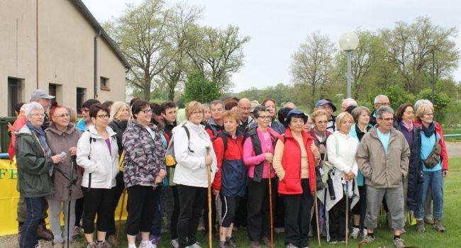 Malgré la météo, cinquante-cinq participants étaient au départ./Photo DDM