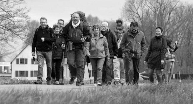 À l'origine de ce noble projet, Jean Ricard est parti le 11 avril dernier de Mulhouse./ Photo DR