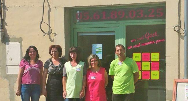 GEST (garanties et services tenus), une nouvelle entreprise d'aide à domicile a vu le jour à L'Isle-en-Dodon, avec la complicité de deux associées motivées par le respect des valeurs humaines../Photo DDM