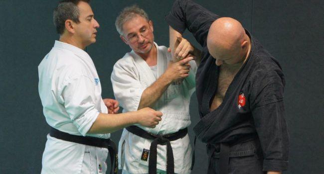 Les trois représentants des disciplines de l'«Opération Tout en 3».
