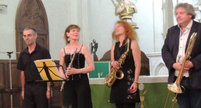 Un concert vraiment exceptionnel dimanche dernier à L'Isle-en-Dodon./Photo DDM
