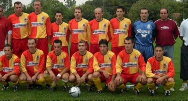 De cette équipe de 2004, seul Cédric Arexis joue toujours et Pierre Sarniguet est toujours le président du club./Photo DDM