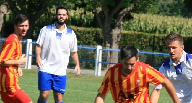 Comme en coupe devant Aurignac, Julian Lizondo a signé un nouveau doublé à Colomiers./Photo DDM