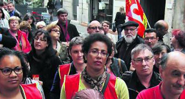 Les agents ont refusé de siéger au comité technique local./Photo DDM Valentine Chapuis.