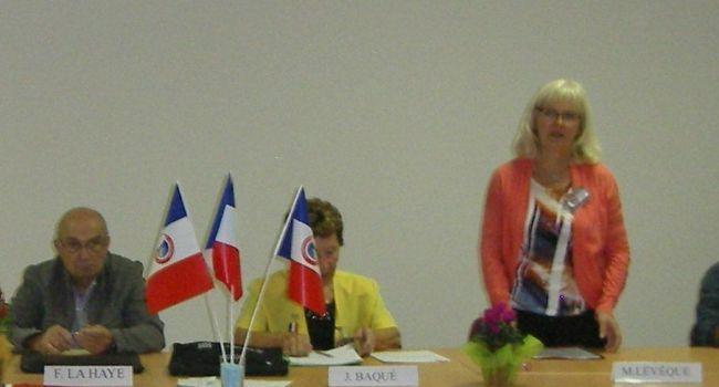 L'assemblée générale du Souvenir Français s'est déroulée dernièrement à la salle de la communauté de communes des Portes du Comminges à L'Isle-en-Dodon./Photo DDM