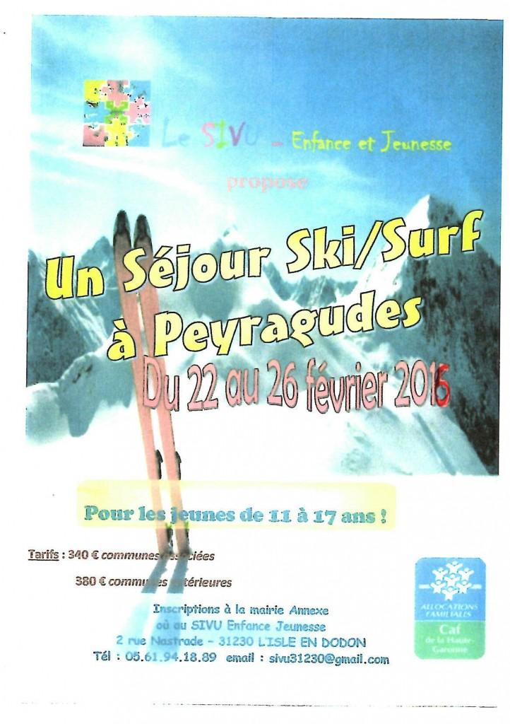 A Peyragudes du 22 au 26 février 2016