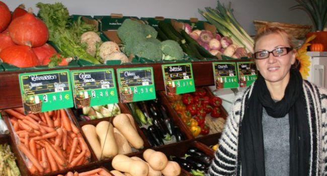 Patricia privilégie surtout les produits locaux. /Photo DDM