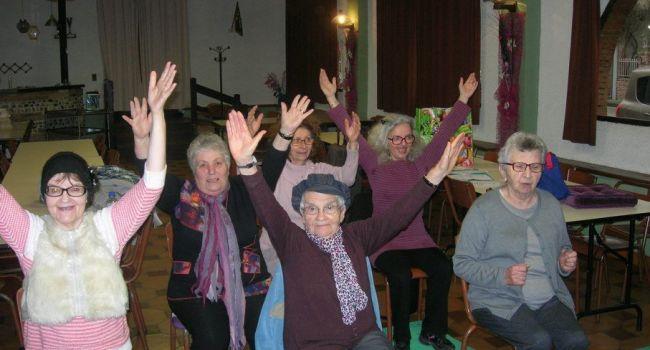 La gym assise a fait son arrivée dernièrement à L'Isle-en-Dodon./Photo DDM.