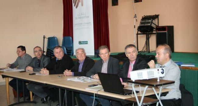 Les caisses locales L'Isle-en-Dodon et Aurignac ont tenu une assemblée générale commune./Photo Y.C-S