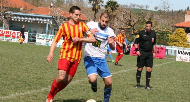 Duel de capitaines entre Florent Serres et Gregory Hurgues./Photo DDM