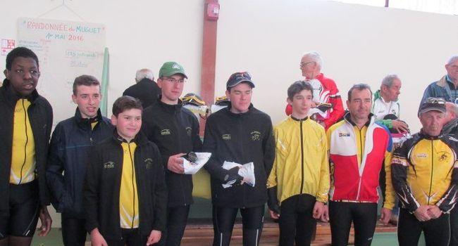 Les jeunes cyclistes du club d'Ornezan. / Photo DDM
