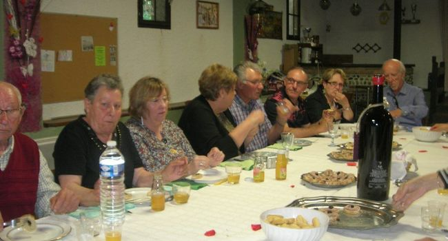 Une partie du comité de jumelage./Photo DDM