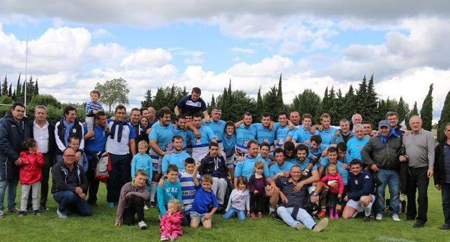 Heureux de la victoire en quart de finale contre Mauguio./ Photo DDM.