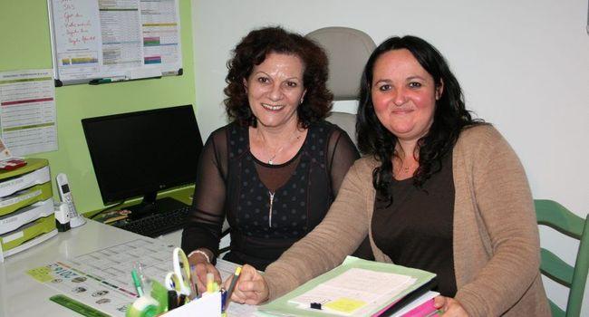 Maryline Soldeville et Chrystelle Gauthier, cogérantes de GEST../Photo Y.C-S
