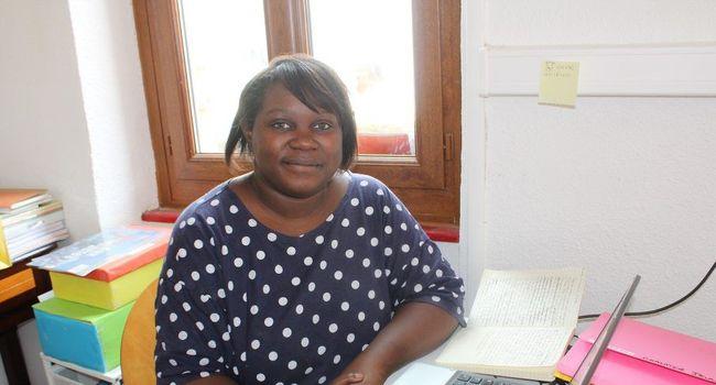 Caty Auguste, présidente de PAMDRH (Plateforme d'aide au management et développement des ressources humaines) a mené cette réunion de la commission «vie locale». /Photo Y.C-S