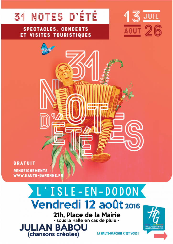 31 notes d'été l'isle en dodon
