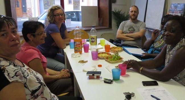 La commission vie locale s'est réunie à nouveau pour débattre de la création d'un espace de vie sociale. / Photo DDM