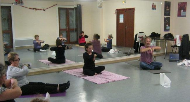 Le yoga a fait sa rentrée à la gym./Photo DDM.