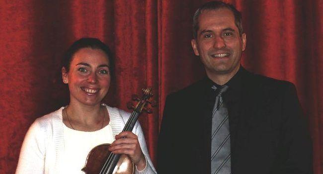 Ce concert sera interprété par Natacha Triadou et Marc Chiron. /Photo DR