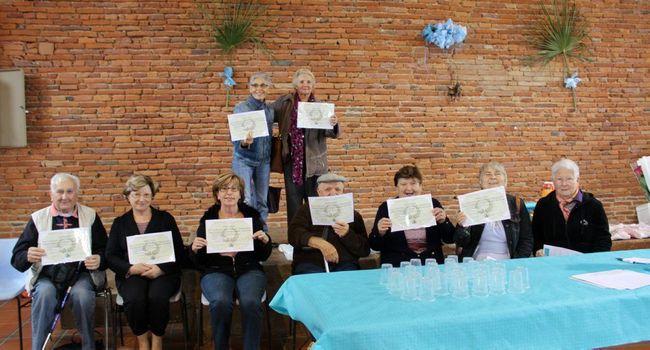 Les aînés ont repassé haut la main leur certificat d'études./Photo DDM Y.C-S.