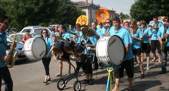 Les subventions accordées aux associations, ici la banda New's Band., étaient à l'ordre du jour./ Photo DDM.