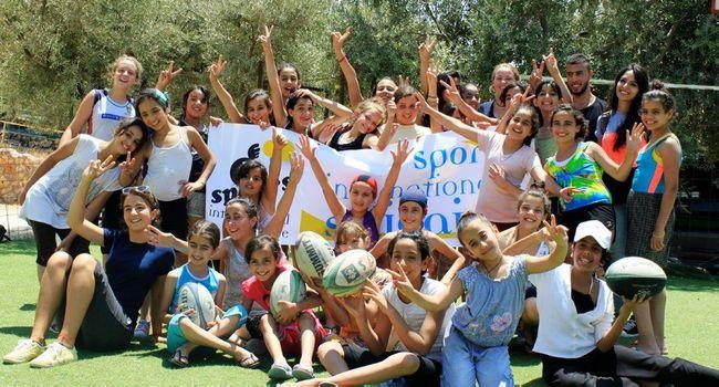 De jeunes volontaires de Sportis./ Photo DR