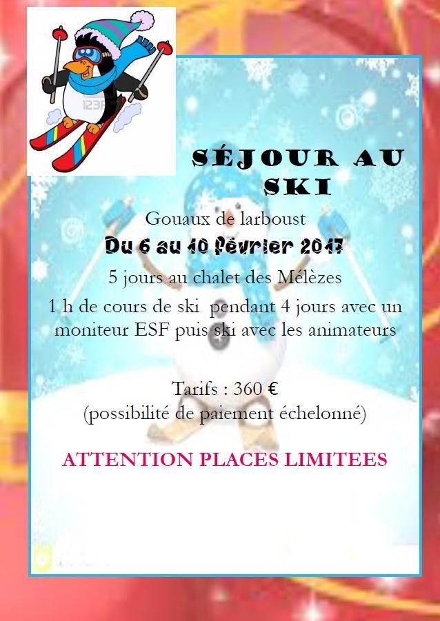programme SIVU 3-6ans vacances noël 2016