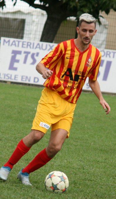 Kenny Mare a frappé deux fois contre Blagnac.