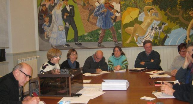 Le vote a eu lieu à bulletin secret, François Caraoué, Loïc Le Roux de Bretagne, Pierre Raspaud et Guy Lasserre ont été élus./Photo DDM