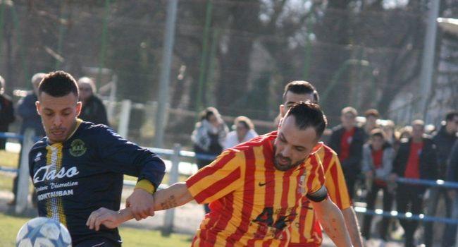 Romuald Ajas, le capitaine, a montré l'exemple en inscrivant trois buts