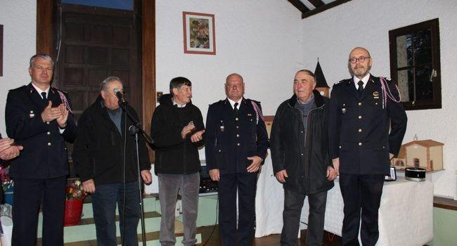 Jean-Claude Artigues a été promu capitaine lors de la Sainte-Barbe./Photo DDM.