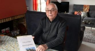 Jean Baqué a consacré un livre à Jean-Pierre Roger et à l'abbé Gabriel Lasmastres/. Photo DDM Y.C-S