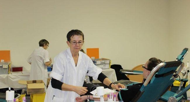 En décembre dernier, 75 personnes sont venues donner leur sang./Photo Y.C-S