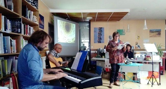 Ces lectures musicales seront accompagnées par deux musiciens, Jean-Baptiste Gassier à la guitare et Hugues Priem au piano./Photo DDM