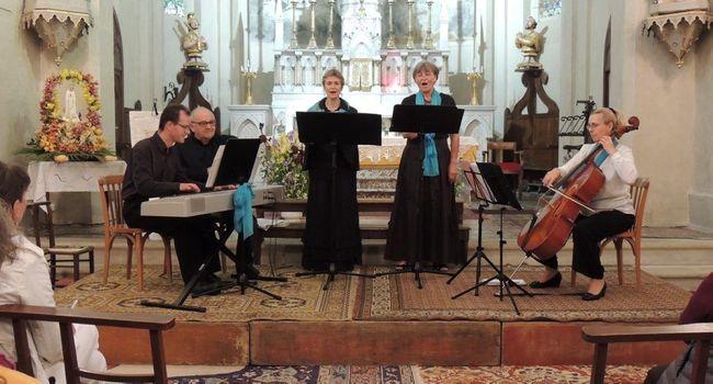 Un voyage musical de la Renaissance au XX e siècle qui a enthousiasmé le public./Photo DDM