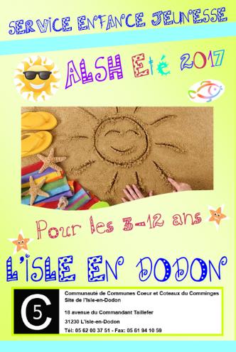 Programme vacances d'été sivu l'isle en dodon ALSH enfants 3-12 ans