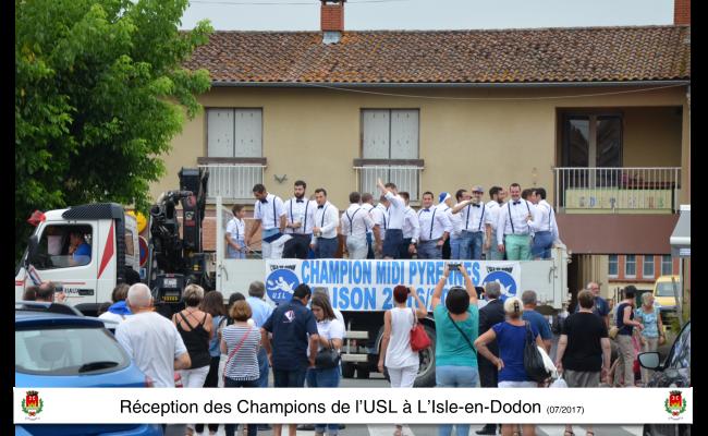 champions midi pyrénées USL l'isle en dodon rugby