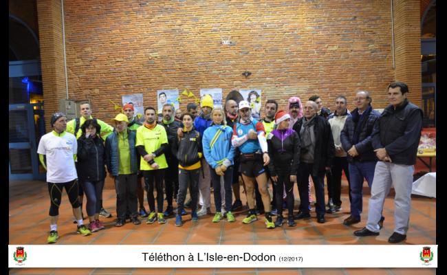 Téléthon l'Isle en Dodon