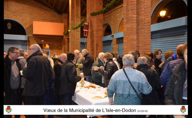voeux 2018 municipalité l'isle en dodon