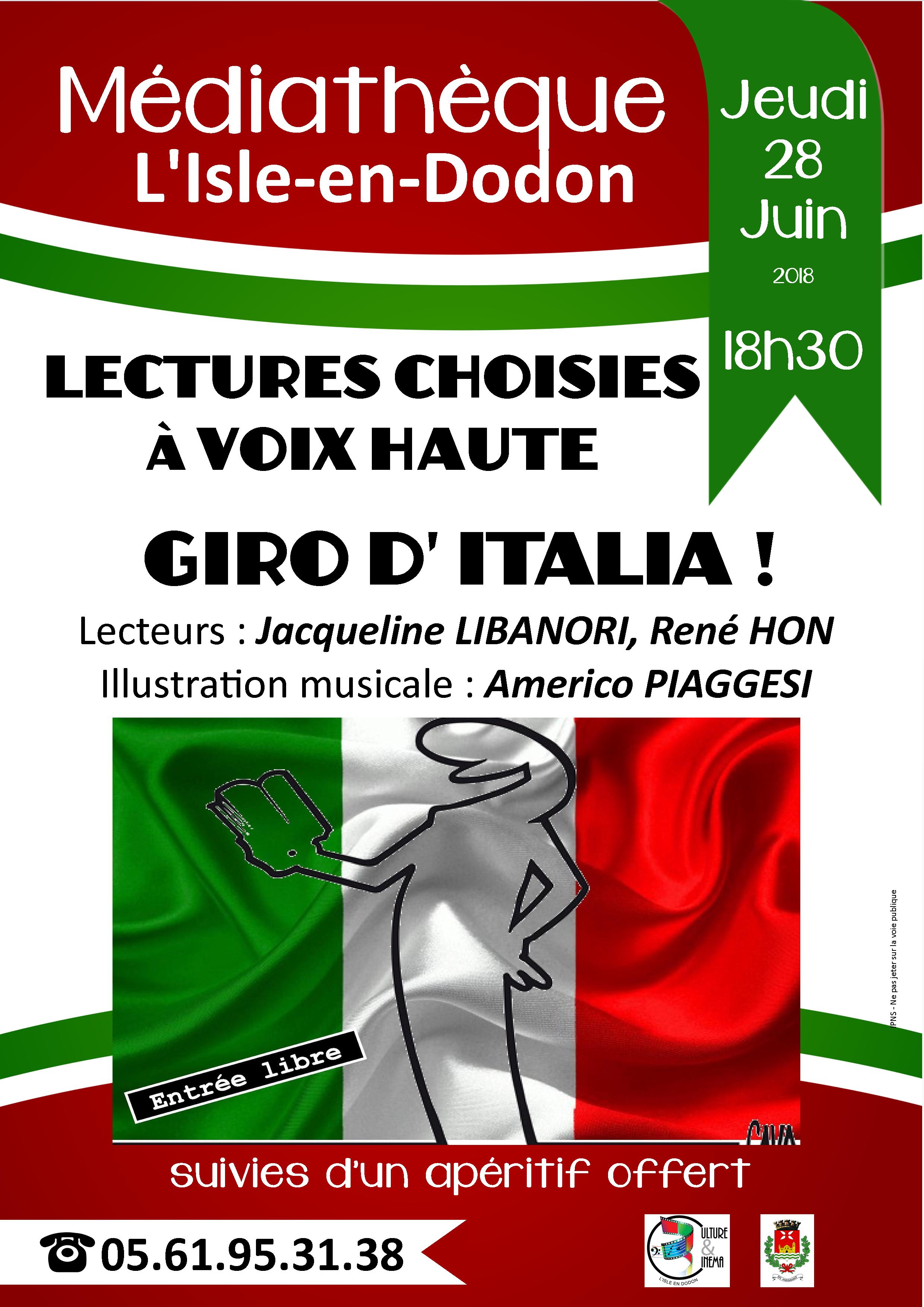 Giro d'Italia à la médiathèque de L'Isle-en-Dodon