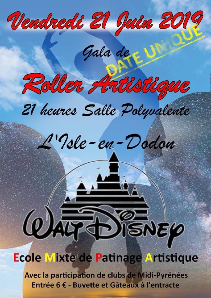 Gala de coller artistique à la salle polyvalente de L'Isle-en-Dodon