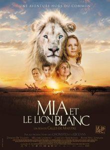 Mia et le lion blanc à Cazac