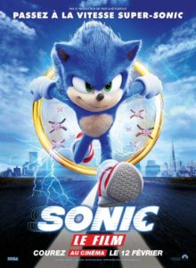 FIlm Sonic au cinéma de L'Isle-en-Dodon
