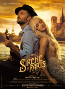 Film Une sirène à Paris au cinéma de L'Isle-en-Dodon