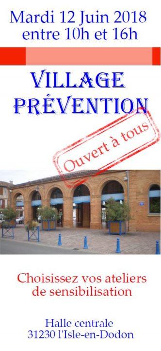 village de prévention l'isle en dodon