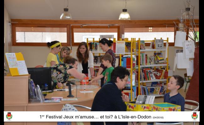 festival du jeux l'isle en dodon